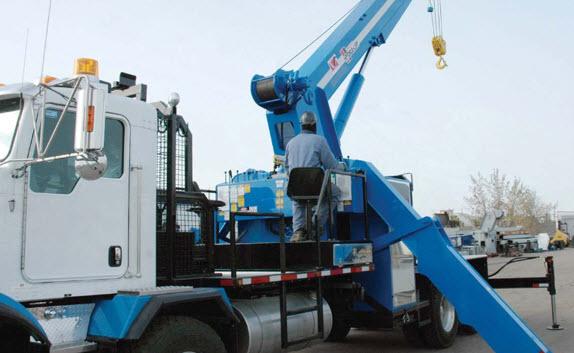 30-ton truck mounted hydraulic crane